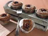 Halbflüssige Schokoladen-Muffins