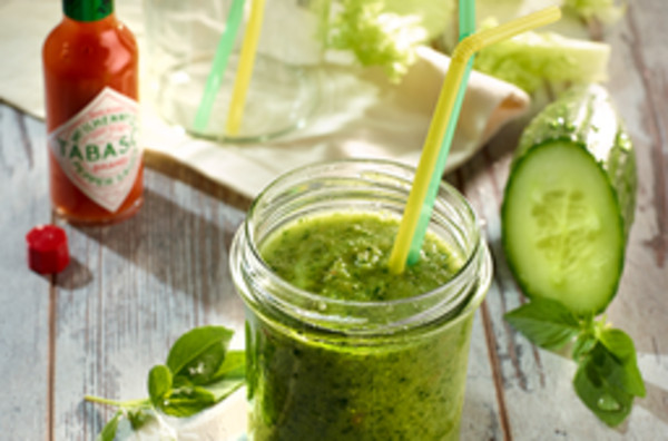 Green Smoothie mit Pep