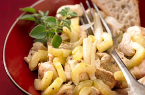Hähnchen-Senf-Ragout