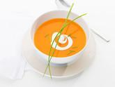Cremige Karotten-Ingwer Suppe