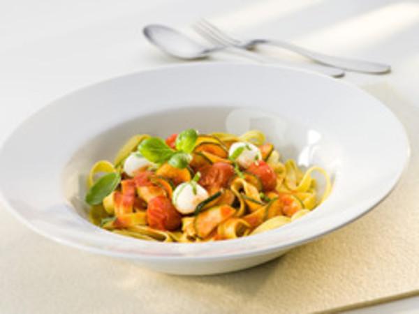 Mediterrane Gemüse-Pasta